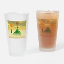 Pyramid Drinking Glass