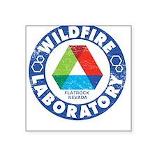 Wildfire Laboratory Square Sticker