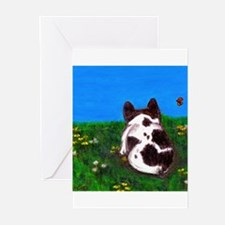 French Bulldog Painting Greeting Cards (Pk of 10)