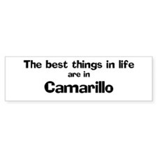 Camarillo: Best Things Bumper Bumper Stickers