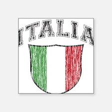 ITALIA (light colored product Square Sticker