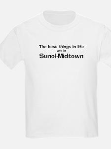 Sunol-Midtown: Best Things Kids T-Shirt