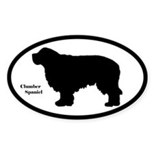 Clumber Spaniel Silhouette Decal