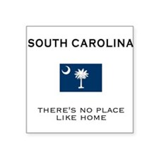 South Carolina Square Sticker