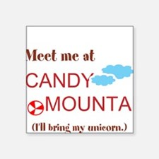 Candy Mountain Square Sticker