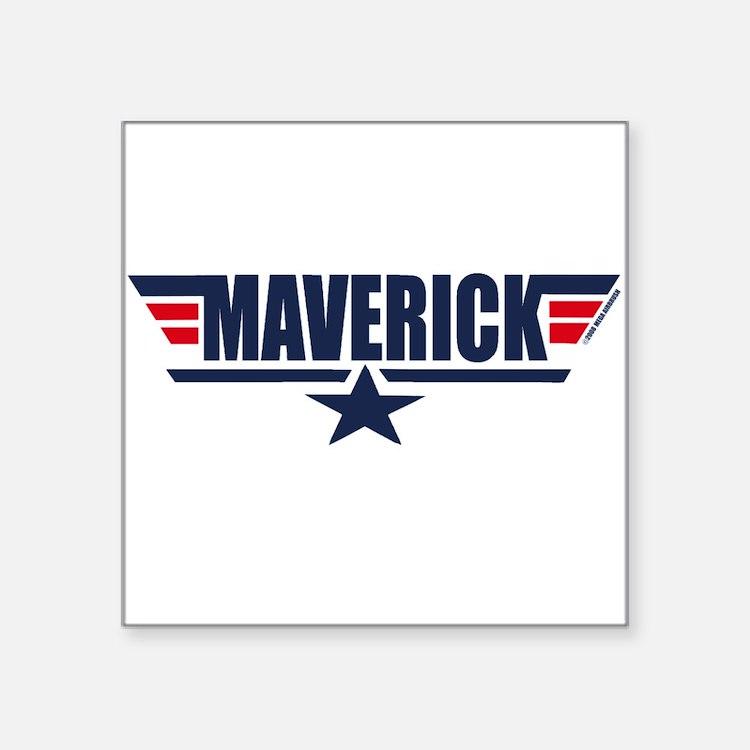 Maverick Square Sticker