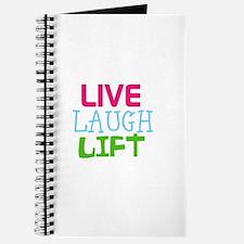 Live Laugh Lift Journal