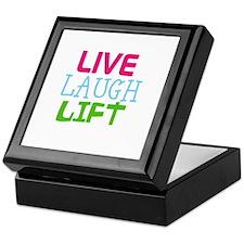 Live Laugh Lift Keepsake Box