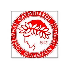 Olympiakos Square Sticker