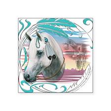 Horse of SW Mesas Square Sticker