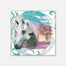 Horse of SW Mesas Square Sticker