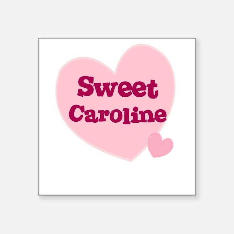 Sweet Caroline Stickers | Sweet Caroline Sticker Designs ...