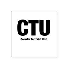 C.T.U. Square Sticker