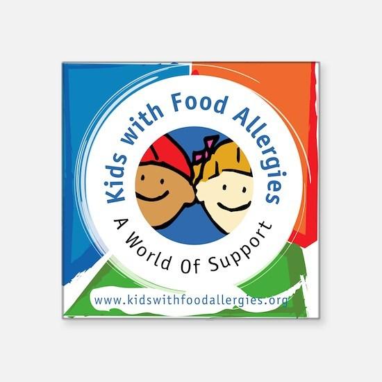 Kids' Logo Square Sticker