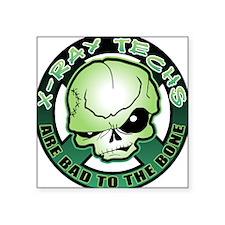 X-Ray Tech Square Sticker