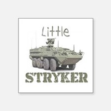 """Little Stryker"" Square Sticker"