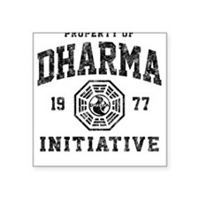 Dharma Faded Square Sticker