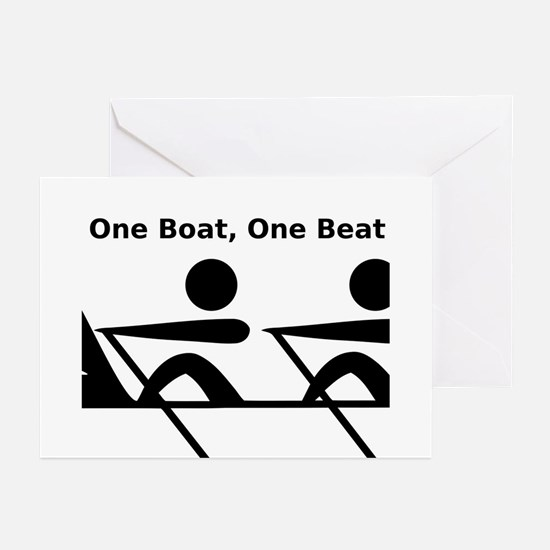 One Boat, One Beat Greeting Cards (Pk of 20)