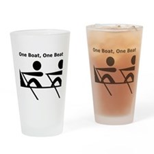One Boat, One Beat Drinking Glass