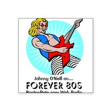 Forever 80s - Square Sticker