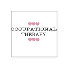 Occupational Therapy Hearts Women's Colored Tee