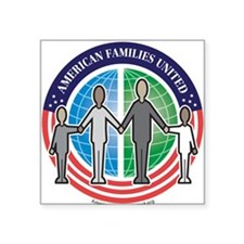 American Families United Square Sticker
