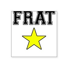 Frat Star Square Sticker