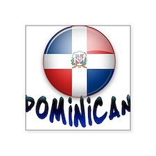 Dominican T Square Sticker