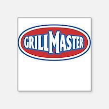 GrillMaster Square Sticker