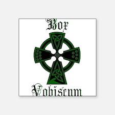Box Vobiscum Square Sticker