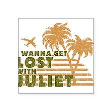 Juliet Square Sticker