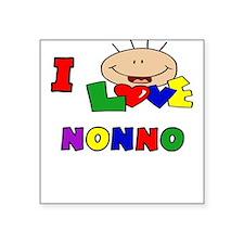 I Love Nonno Baby/Onesie Square Sticker