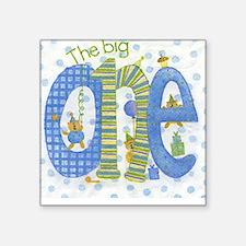 The Big One - 1st Birthday Square Sticker
