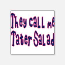 "ExpressionWear ""Tater Salad"" Square Sticker"