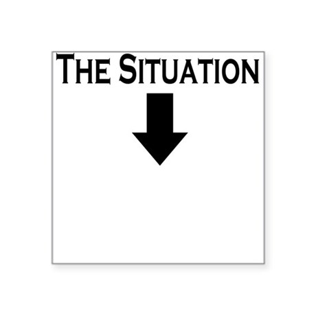 The Situation Square Sticker