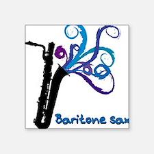 Barry Sax Square Sticker