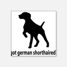 Got German Shorthaired? Square Sticker