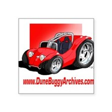 Dune Buggy Archives Square Sticker