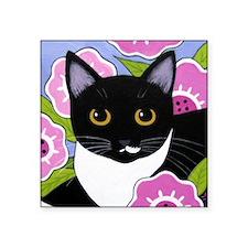 SASSY Black and Square Stickeruxedo CAT Adult Squa