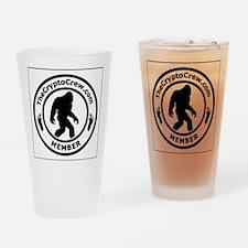 Funny Crypto Drinking Glass