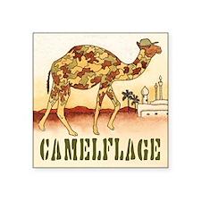 """CAMELFLAGE"" Square Sticker"