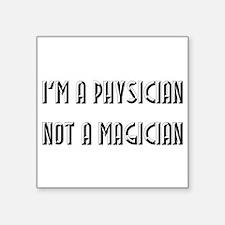 Physician Square Sticker