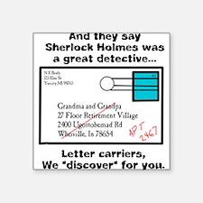Detective Square Sticker