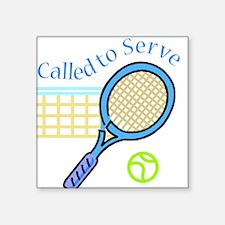 Called to Serve Square Sticker