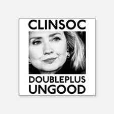 CLINSOC Square Sticker
