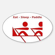 Eat - Sleep - Paddle Decal