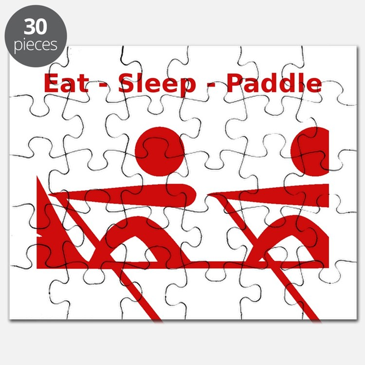 Eat - Sleep - Paddle Puzzle