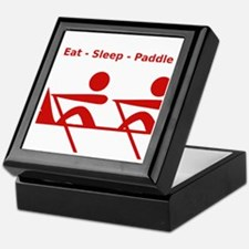 Eat - Sleep - Paddle Keepsake Box