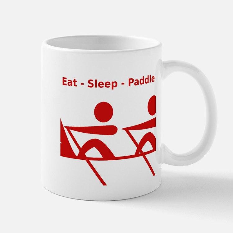 Eat - Sleep - Paddle Mug