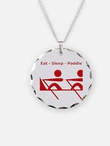 Eat - Sleep - Paddle Necklace